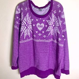 PINK Victoria Secret Ugly Christmas Sweater